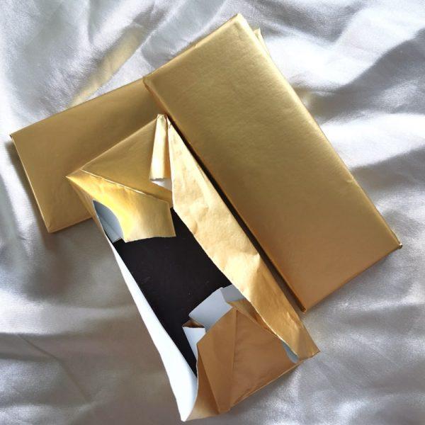 Foil backing paper