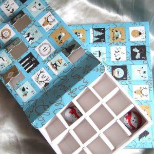 Christmas Design Calendar Truffles Chocolate Box