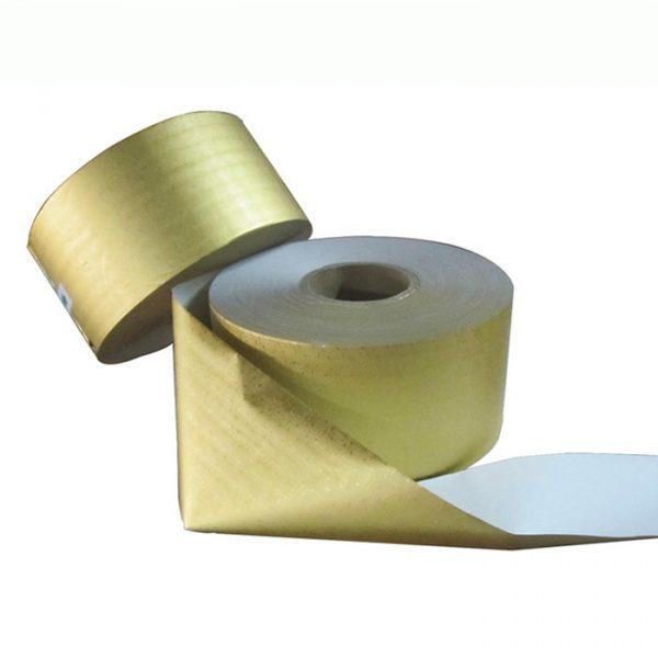 Gold foil backing paper rolls