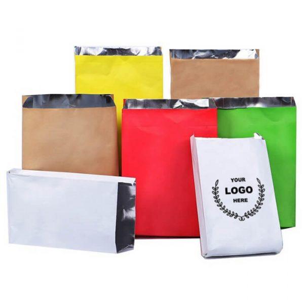 custom logo Colored foil chicken bags