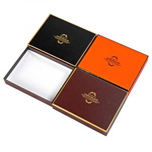 Three color boxes in lid and cover