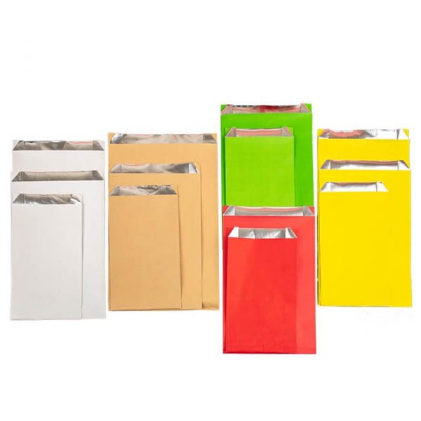 Different size Foil Paper Insulated Food bag